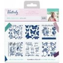 Crafters Companion - Sara Signature Collection - Flutterby - Foil Transfers - Wild & Free